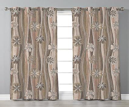 Amazon.com: Stylish Window Curtains,Floral,Flourishing Spring ...