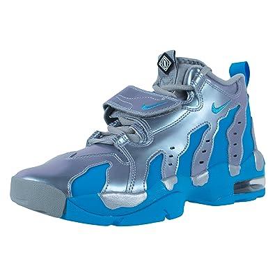 c3d7b479da Nike Air DT Max Kids Basketball Shoes, Metallic Silver/Vivid Blue-Black,
