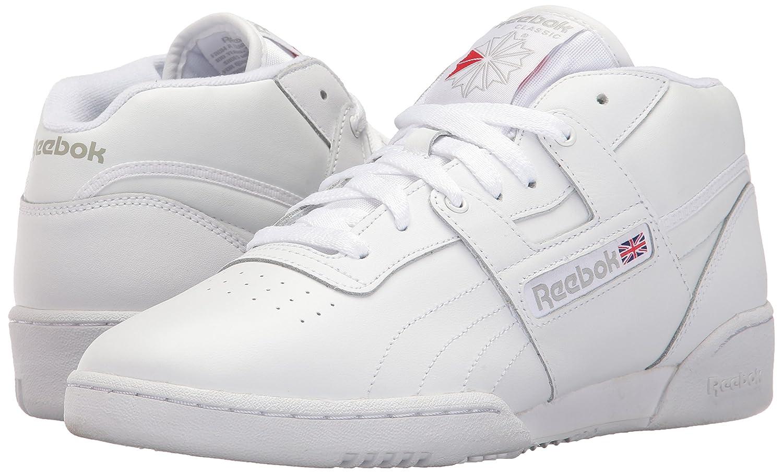 white classic reebok sneakers