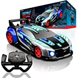 Force1 Techno Racer Remote Control Car for Kids - LED Light RC Car, High Speed Race Drift RC Car Toy with Music, Toy Car with