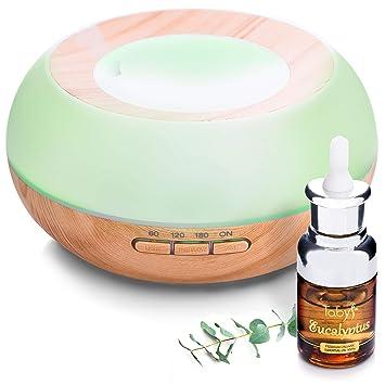Amazon.com: Difusor con aceite esencial de eucalipto y ...