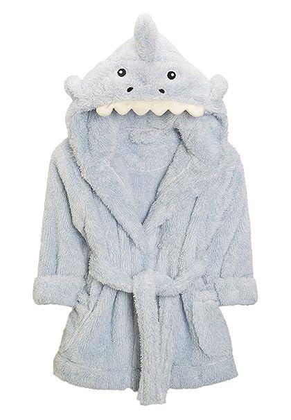 next Niños Bata con Diseño De Tiburón (9 Meses - 6 Años) Azul 5-6 años: Amazon.es: Ropa y accesorios