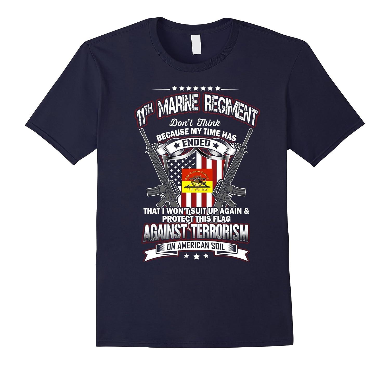 11th Marine Regiment Veteran Vintage T-Shirt-TH