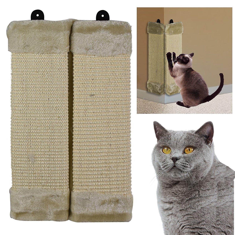 ASAB - Colgante de pared para gato o gato con esquina, para proteger muebles: Amazon.es: Productos para mascotas