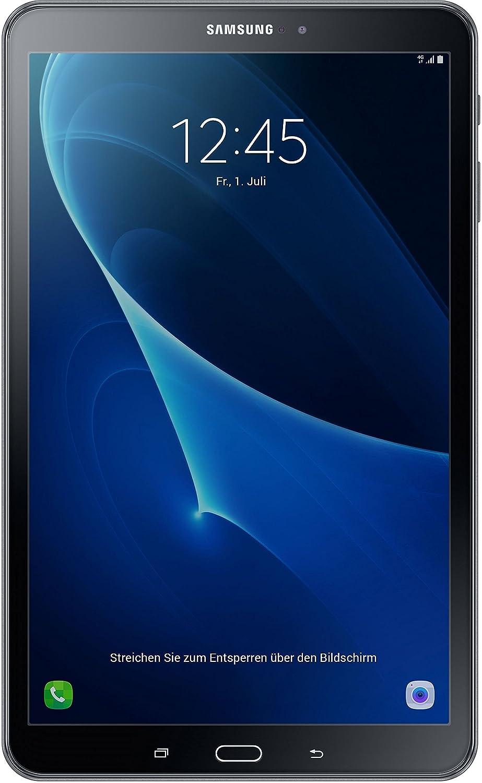 Samsung Galaxy Tab A (SM-T580NZKADBT) 25,54 cm (10,1 Zoll) WiFi Tablet PC (Octa Core, 16 GB eMMC, 2 GB RAM, Android 6.0) schwarz
