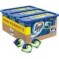 Dash PODS 3in1 Detersivo Lavatrice in Monodosi Regolare, Maxi Formato 3 x 39 da 117 Lavaggi