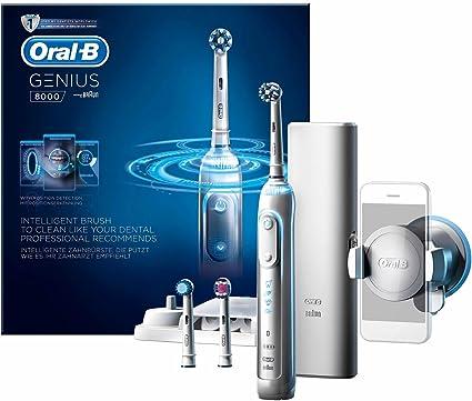 Oral-B Genius 8000 Cepillo Eléctrico Blanco Con Tecnología De Braun