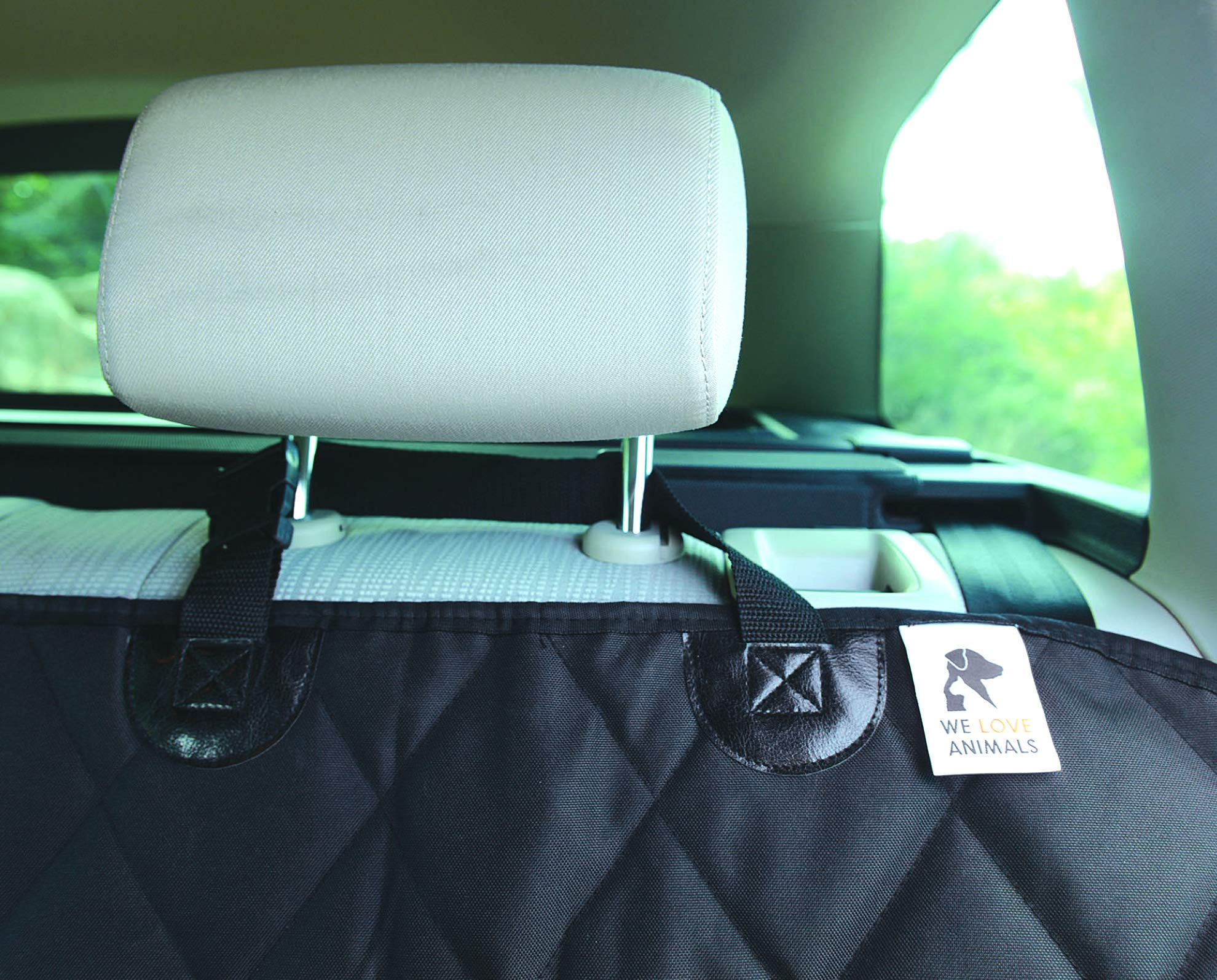 Dog-Car-Seat-Cover-Cargo-Liner-rear-Bench-Convertible-Hammock-Shaped-Comfort-Accessory-for-Cars-SUVs-Trucks-Carriers-Waterproof-Nonslip-Washable-Pet-Backseat-Protector-Pets-Blanket-Bag