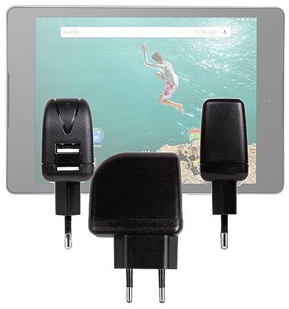 DURAGADGET-Cargador de 2 a USB DURAGADGET-Funda para Tablet ...