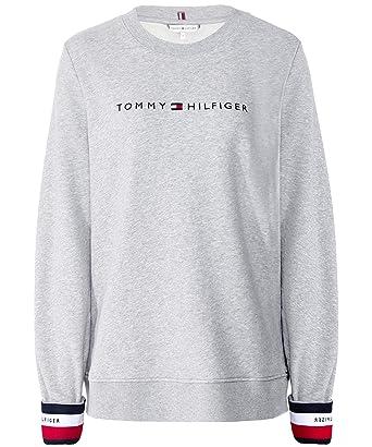 meilleure sélection f6424 2c47d Tommy Hilfiger WW0WW24517 Sweat-Shirt Femme