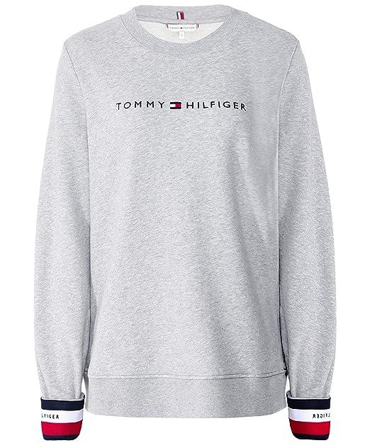 Turnschuhe 2018 auf großhandel Top Design Tommy Hilfiger Damen Sweatshirt