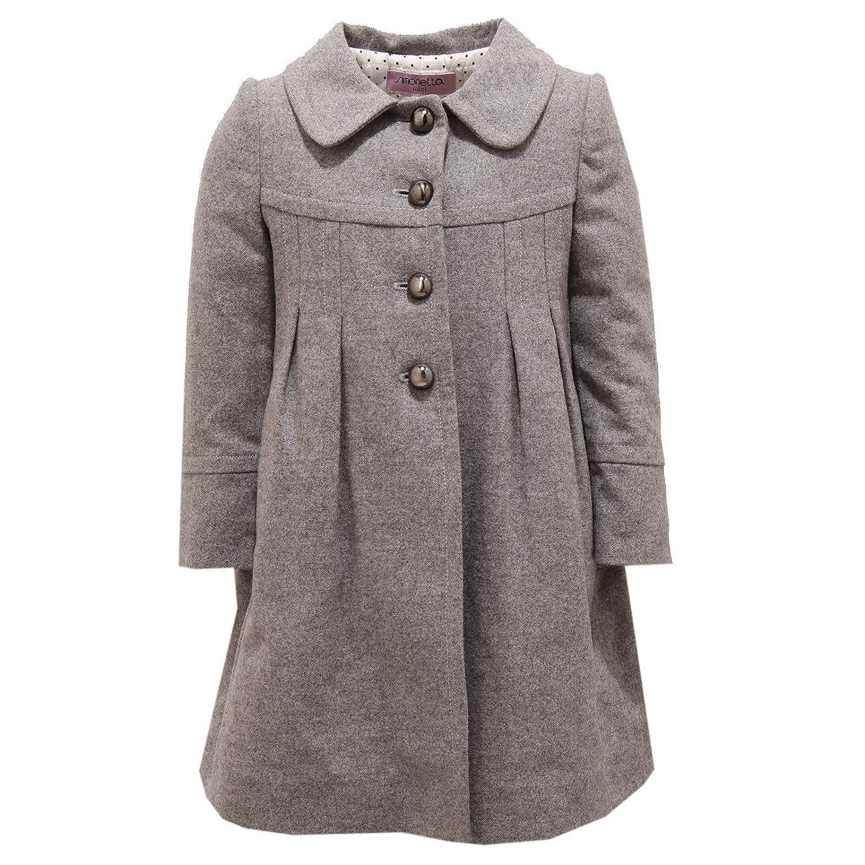 gris 4 Years Simonetta 2250V Cappotto Bimba Girl Wool gris Coat