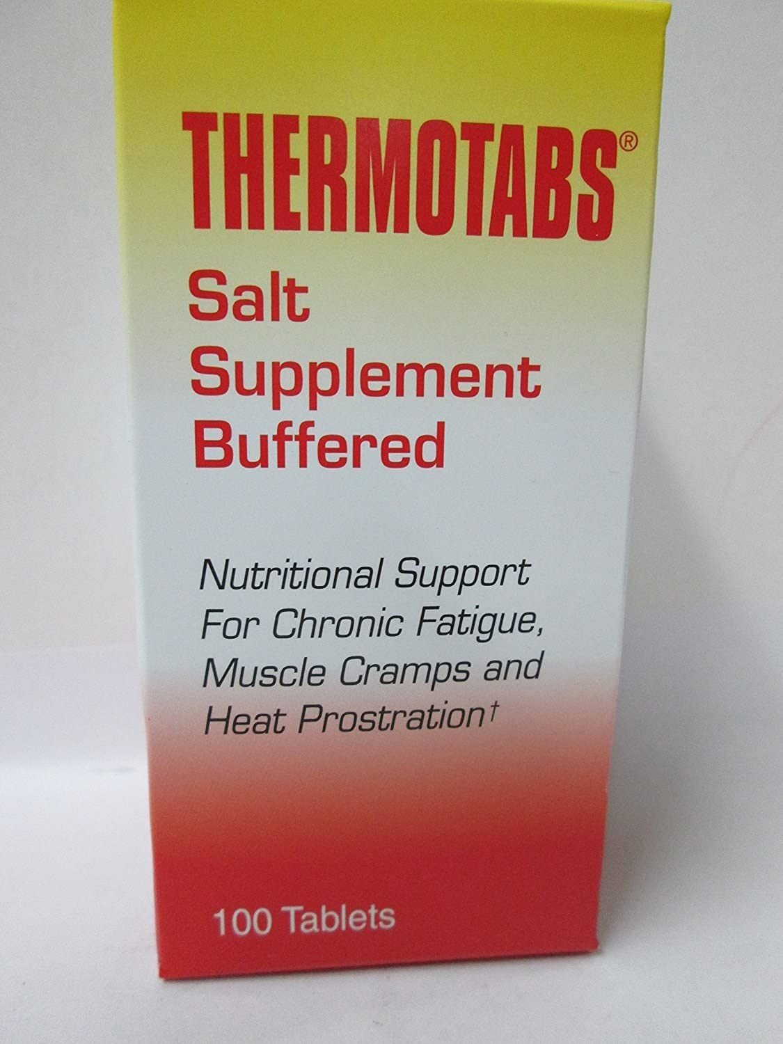 NUMARK LABORATORIES INC. THERMO TabS BUFFERED SALT Tab 100 Tablets (pack of 5)