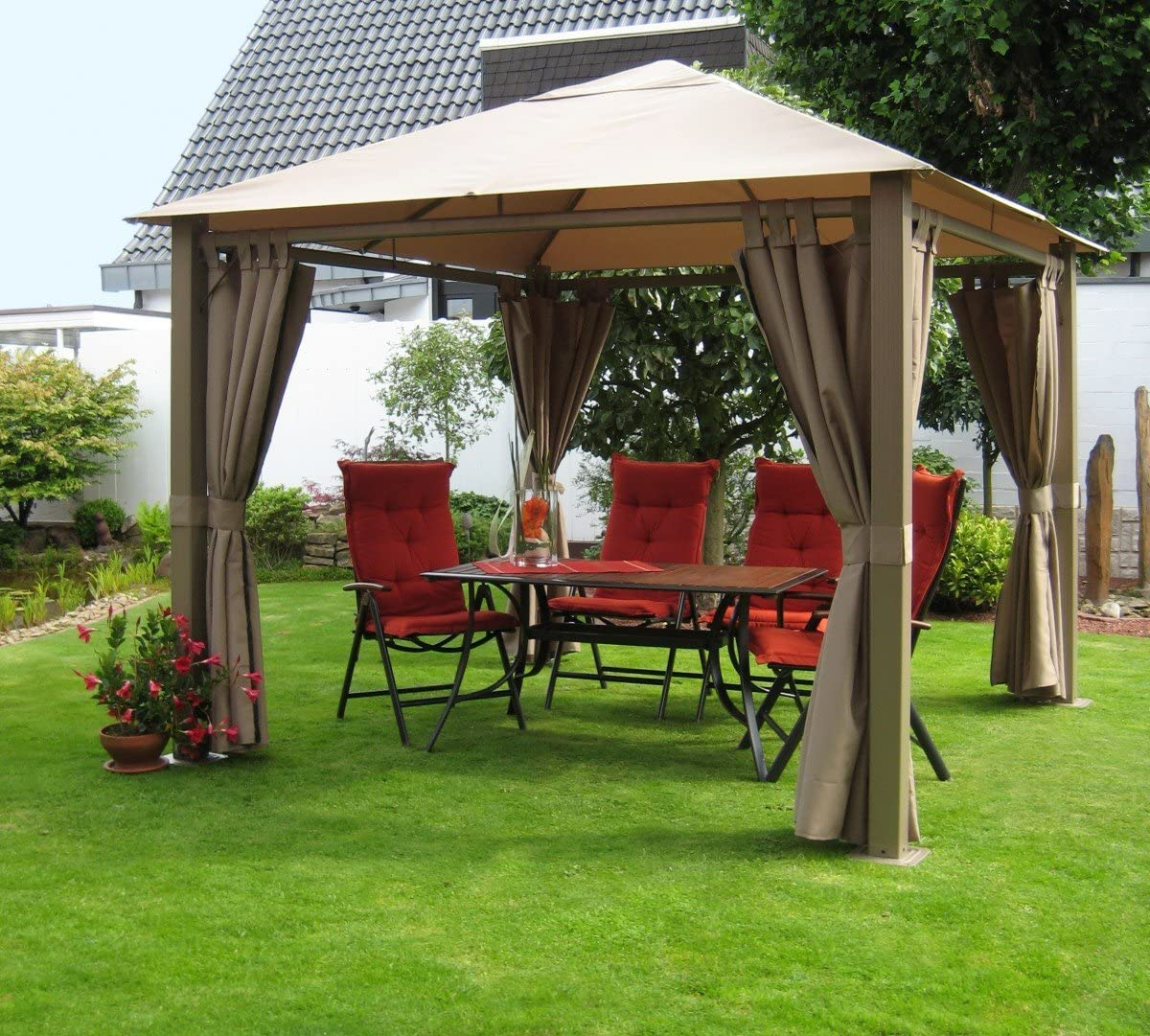 Dreams4Home Carpa Aires, prikker-überdachungen, Pergola, Terraza ...