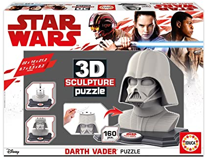 Educa Borrás- Star Wars Darth Vader Puzzle 3D (16500)