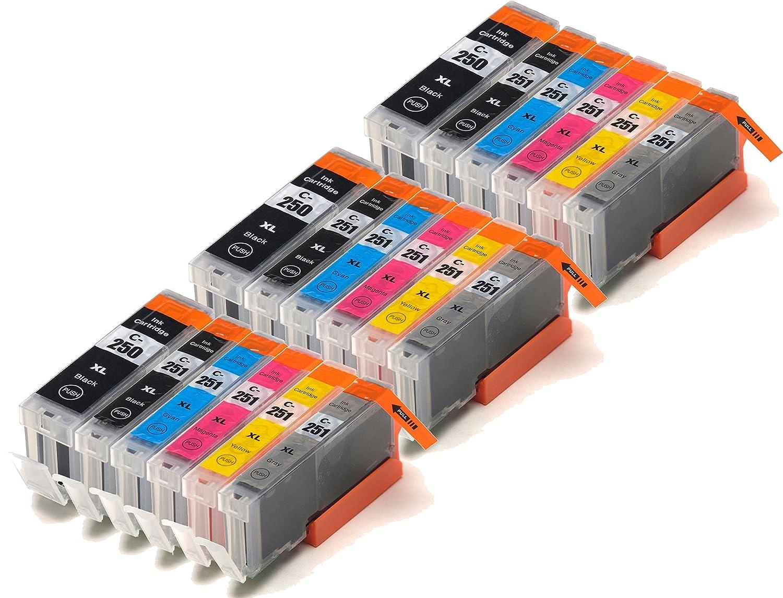 Blake Printing Supply 18 Pack Compatible Ink Cartridges for PIXMA iP8720, MG6320, MG7120, MG7520