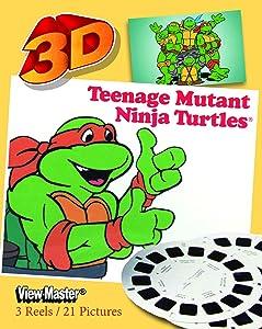 Classic ViewMaster Teenage Mutant Ninja Turtles - 3 Reel Set