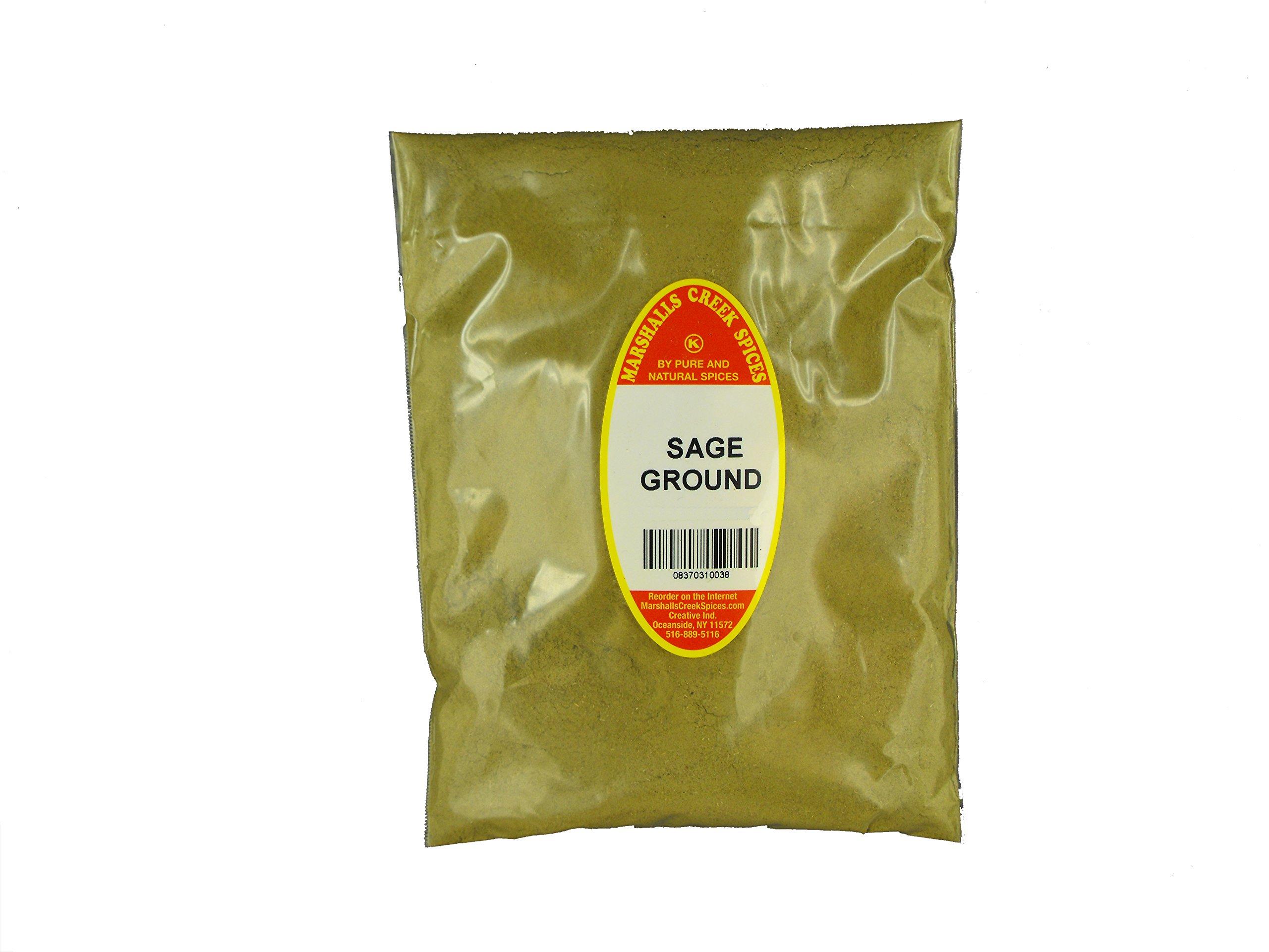 Marshalls Creek Kosher Spices (12 pack) SAGE GROUND REFILL,  7 oz.