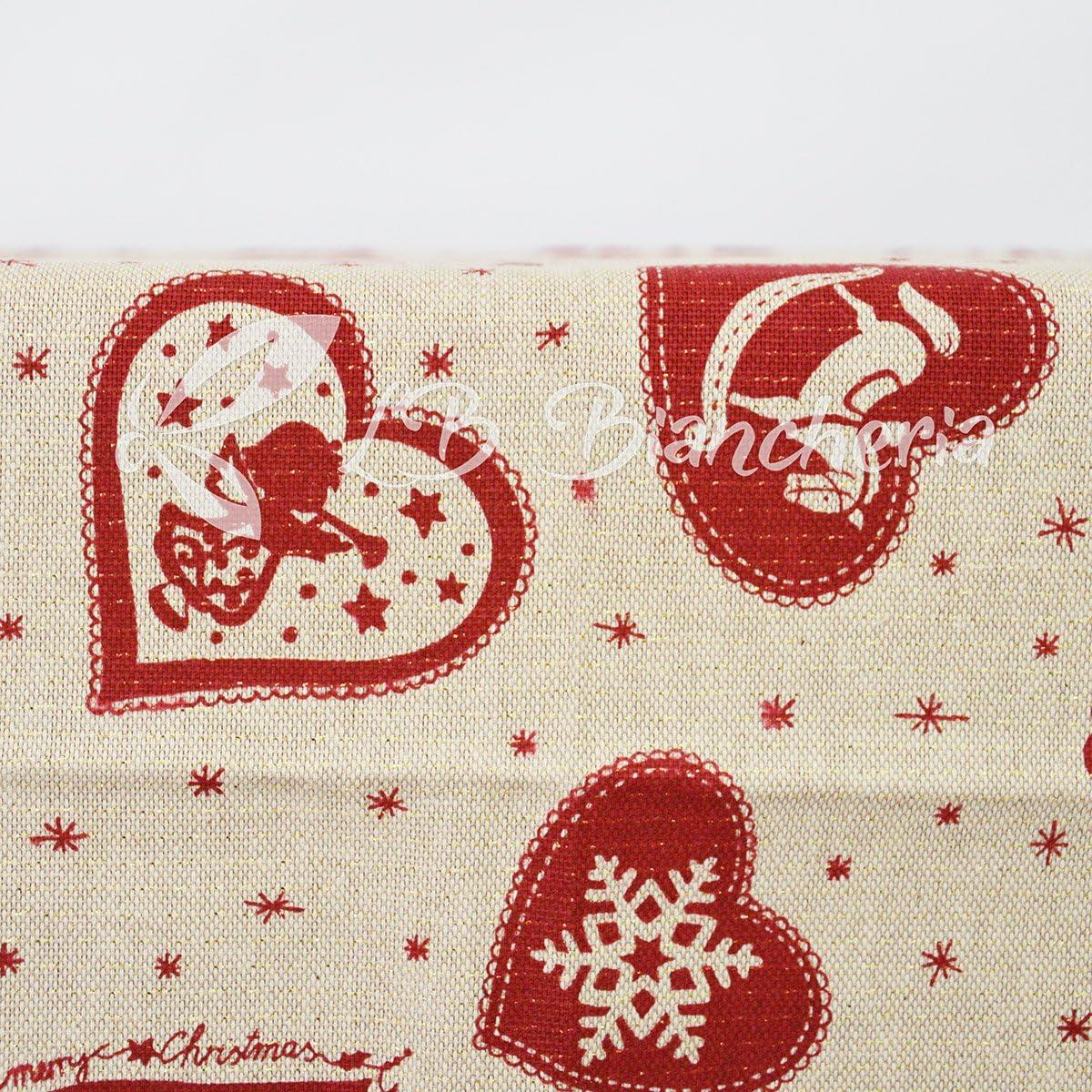 Mantel Navidad polvo de estrellas – Hilo de Oro – Made in Italy ...