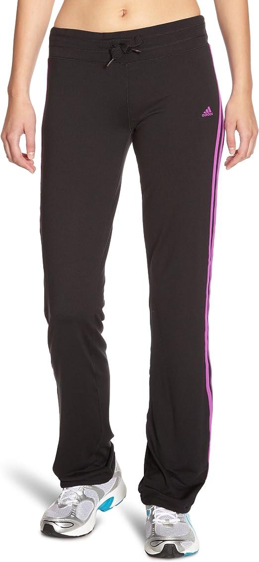 adidas Damen Hose Multifunctional Essentials 3-Stripes Straight Leg