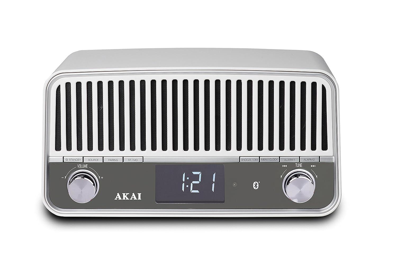 AKAI APR500WE - Retro FM Radio mit Bluetooth | Radio verbindung ...