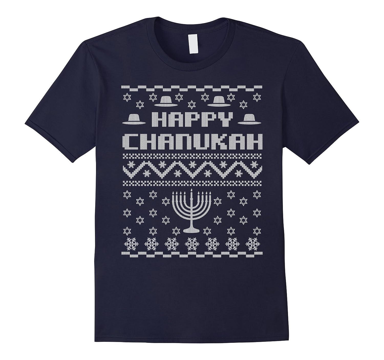 Ugly Chanukah Hanukkah Sweater T-shirt-TD