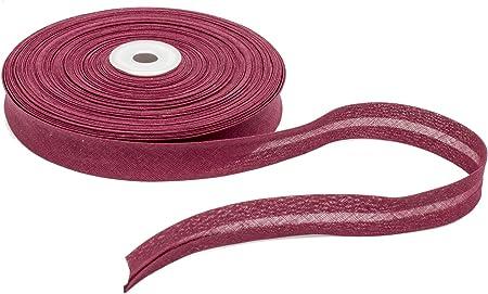 Cotton Bias Binding 20mm Wide Single Fold Red 5 Yards
