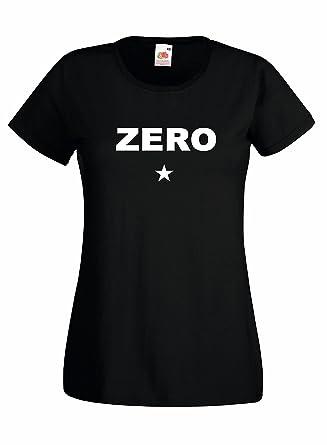 Camiseta Mujer Zero - camiseta Smashing Pumpkins 100% algodon LaMAGLIERIA: Amazon.es: Ropa y accesorios