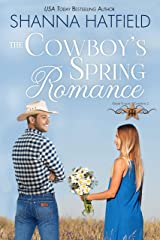 The Cowboy's Spring Romance: Sweet Cowboy Romance (Grass Valley Cowboys Book 2) Kindle Edition