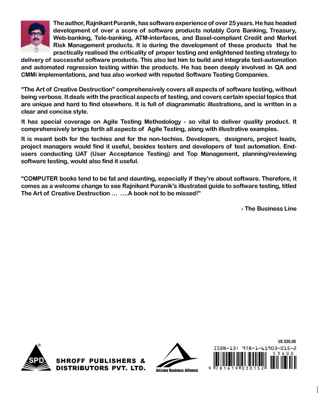 The Art Of Creative Destruction 2nd Edition Amazon Rajnikant