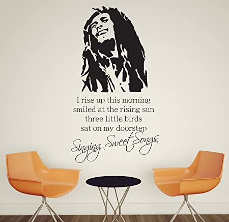 V&C Designs Large Bob Marley Singing Sweet Songs Everything\'s Gonna ...
