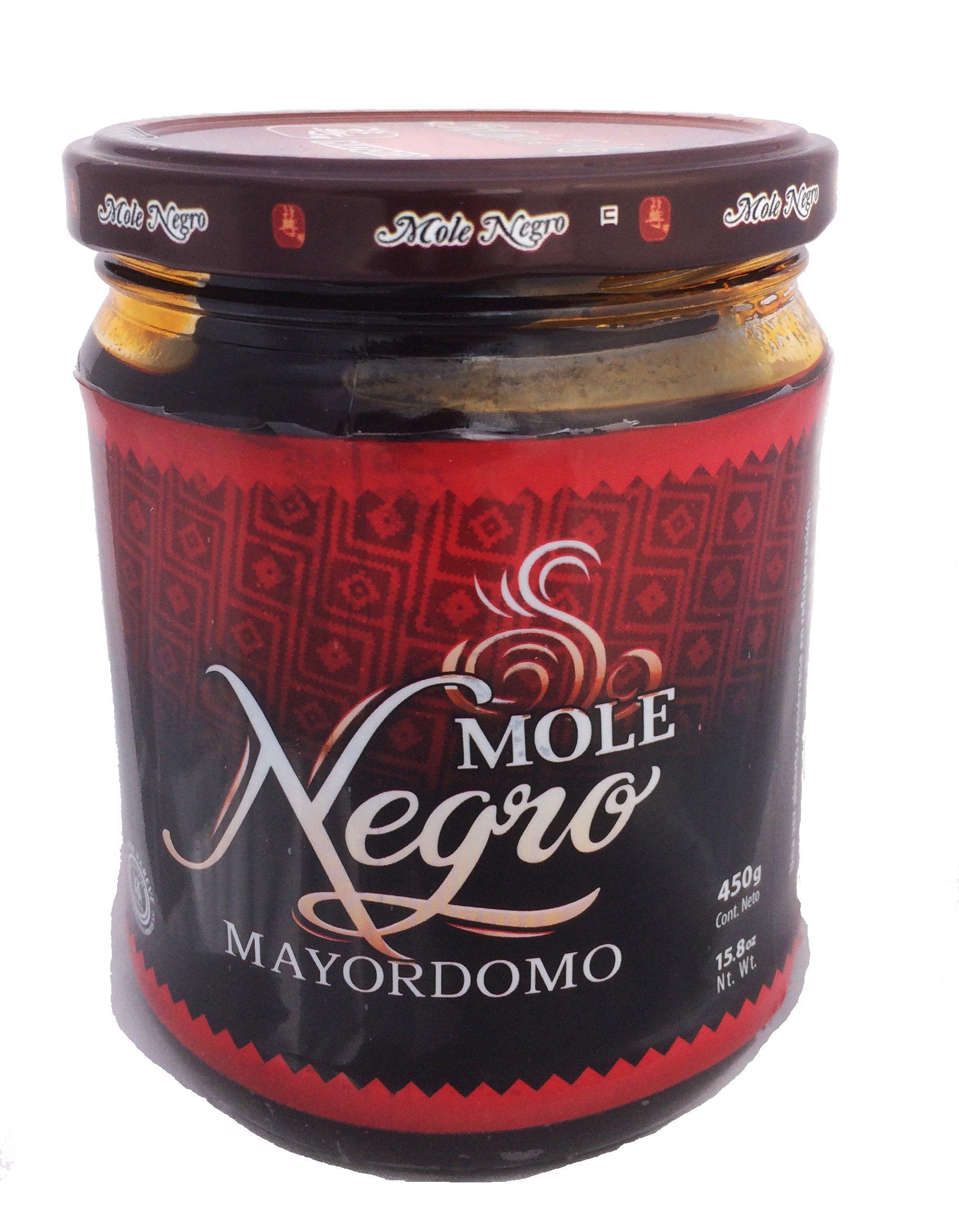 Mole Negro Mayordomo 450 gr (Black Mexican Mole Sauce) (1)