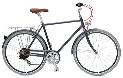 40e1f5fe839ee2 Critical Cycles City Bike Seven Speed Hybrid Urban Commuter Road Bicycle