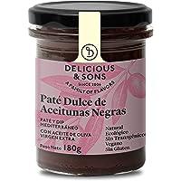Delicious & Sons Paté Dulce de Aceitunas Negras
