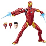 Marvel Black Panther Legends Series Iron Man, 6-inch