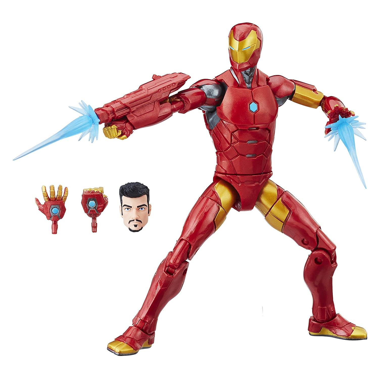 Marvel Black Panther Legends Series Iron Man, 6-inch Hasbro E1576