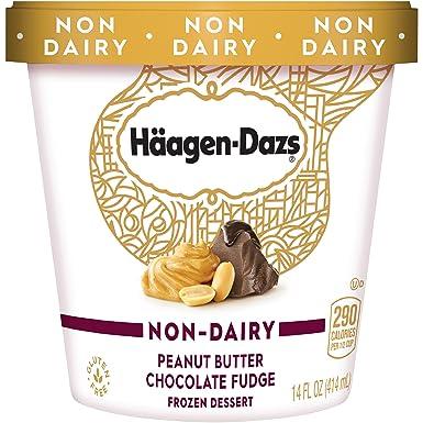 Haagen-Dazs, Non-Dairy Peanut Butter Chocolate Fudge Frozen Dessert, 14 oz.