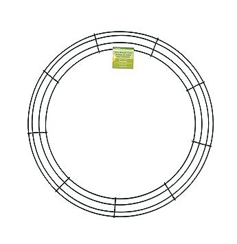 Amazon.com: FloraCraft Wire Wreath Form 18 Inch Green