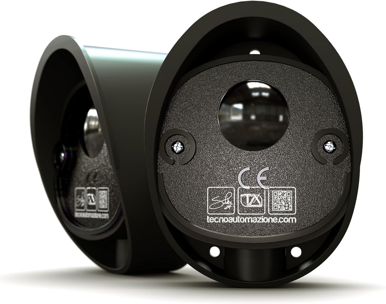 Ovale: célula fotoeléctrica para puertas automáticas 12-24 V 40 m de alcance by TA Tecno Automazione