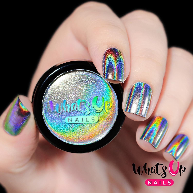 Amazon.com : Whats Up Nails - Holographic Powder For Rainbow Unicorn ...