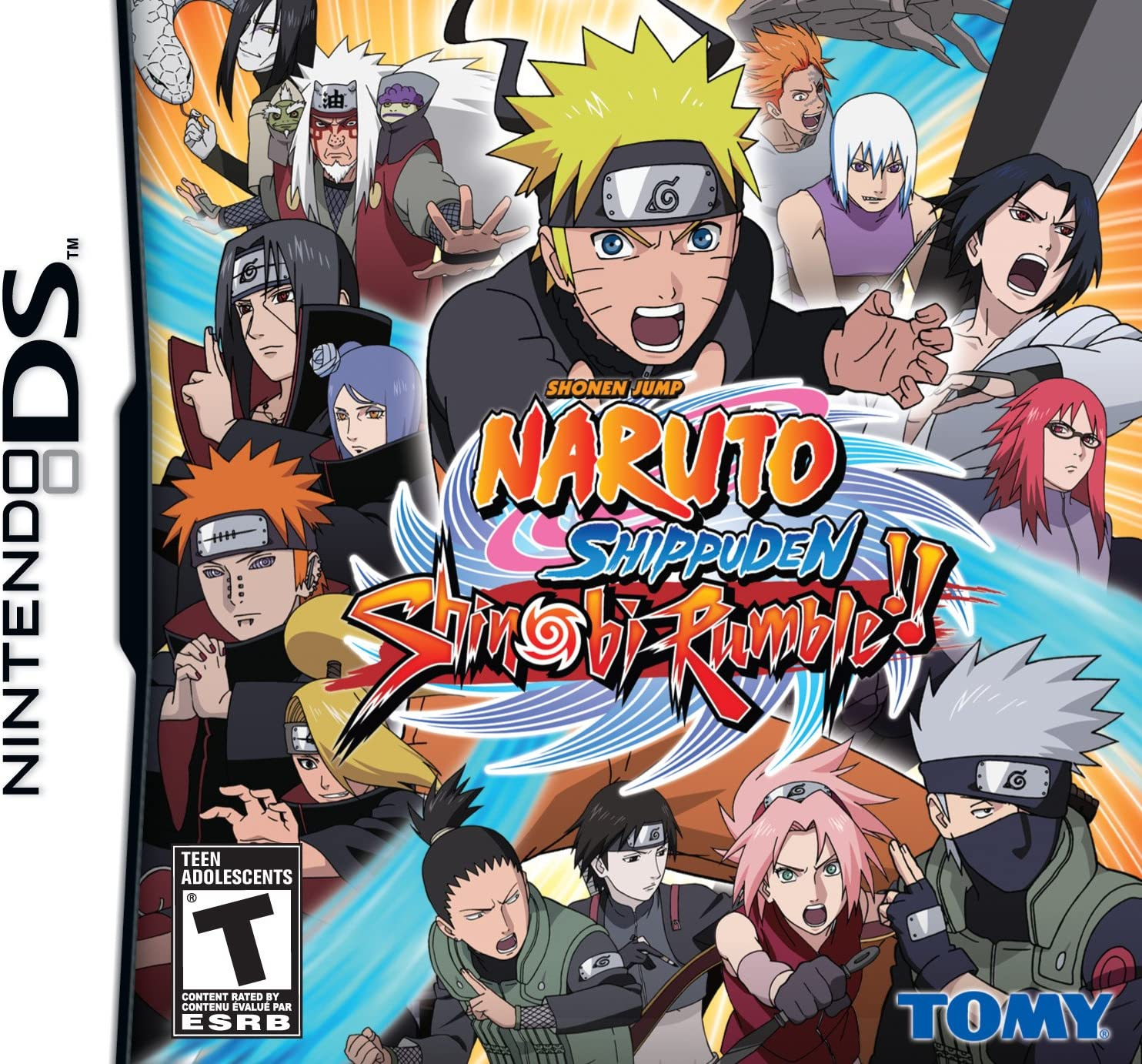 Amazon.com: Naruto Shippuden: Shinobi Rumble - Nintendo DS ...
