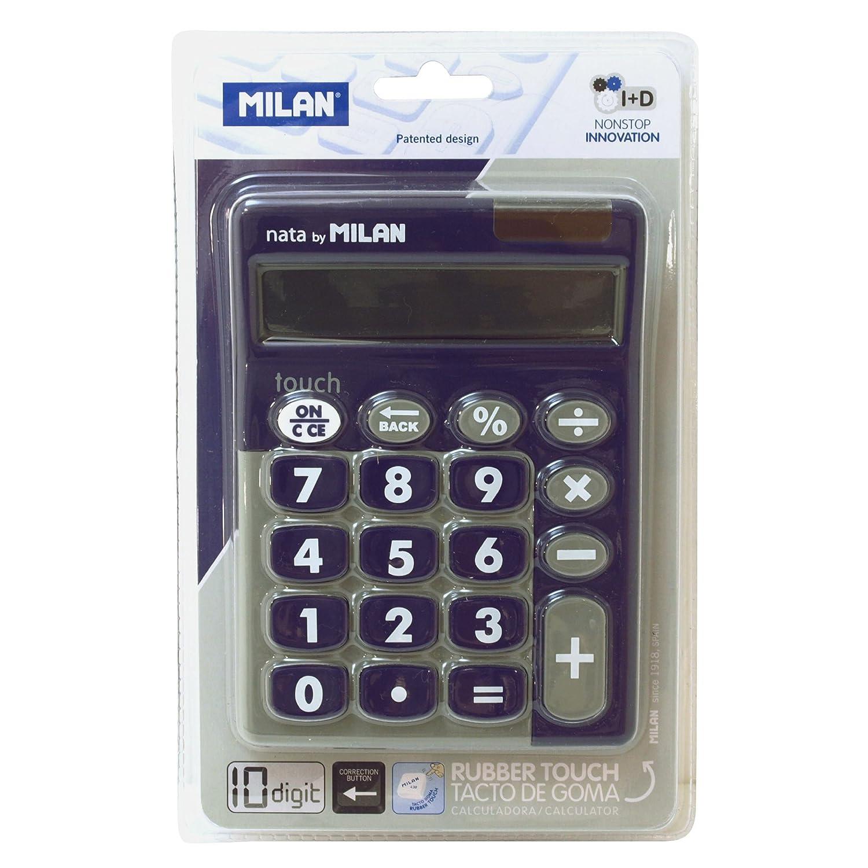 Milan 150610TDGRBL - Calculadora, 10 dígitos, color verde