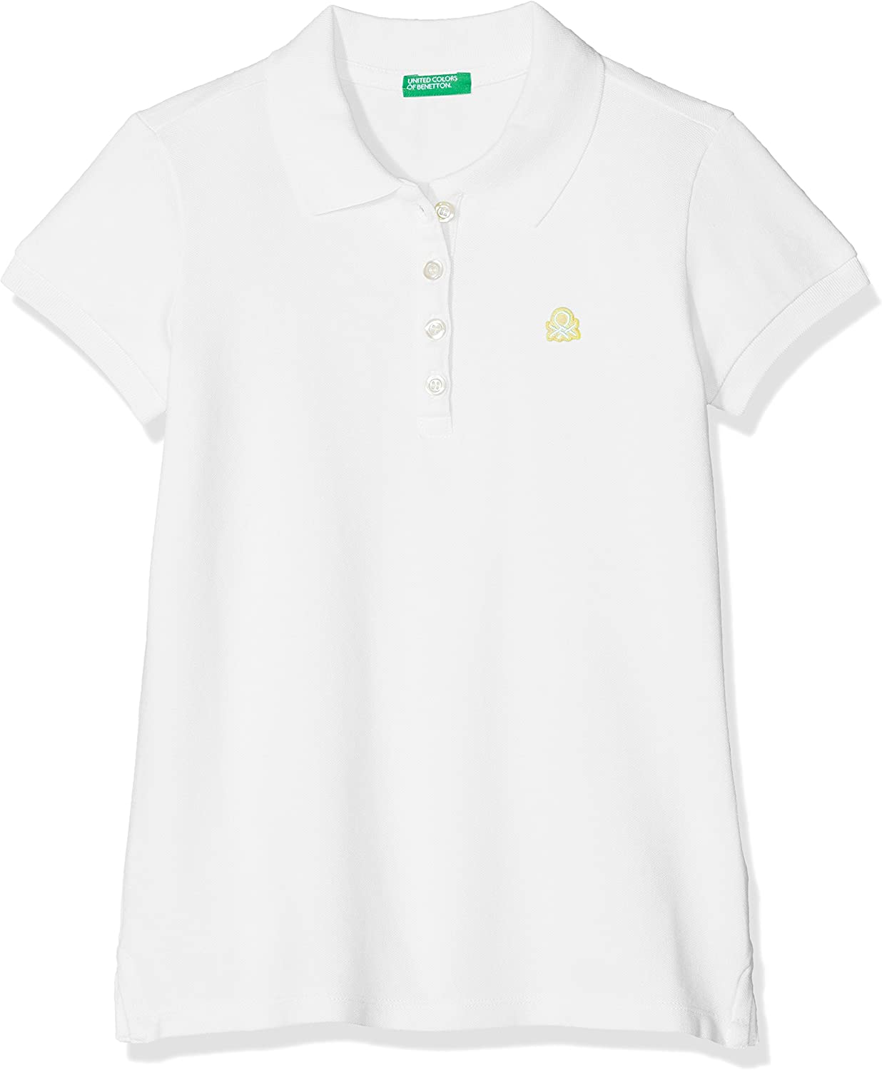 United Colors of Benetton H/s Polo Shirt, Blanco (White 101 ...