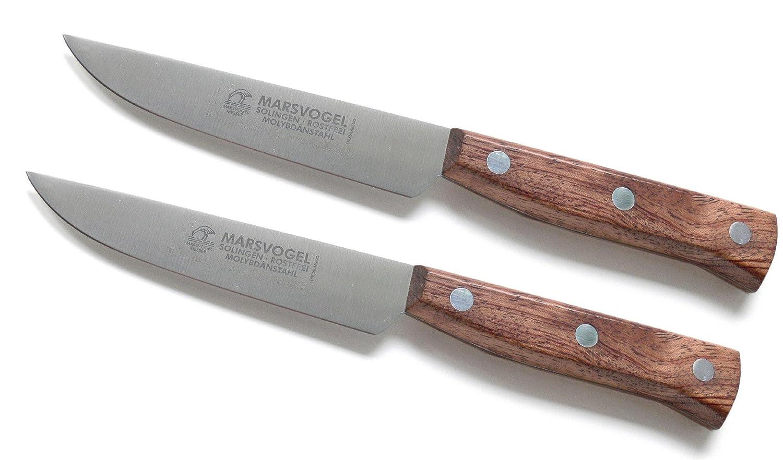 2 pcs mucho cuchillo ancho Bubinga #82 45 03 Mars pájaro ...