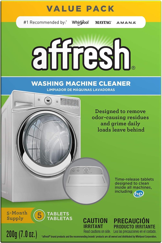 Affresh W10549846 Washing Machine Cleaner, 5 Tablets