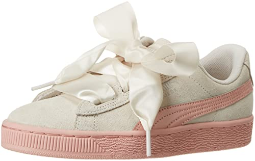Puma Suede Heart Jewel Jr, Zapatillas para Niñas: Amazon.es: Zapatos y complementos