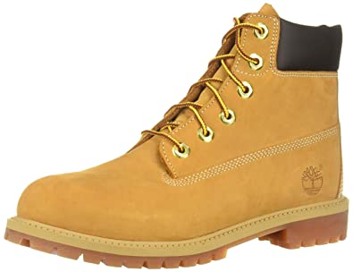 "70da049340 Timberland 6"" Premium Waterproof Boot Core (Little Kid), Wheat Nubuck,  ..."