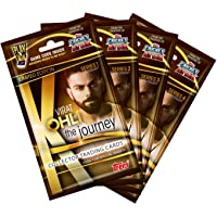 Topps India VIRAT KOHLI The Journey - Collector Trading Card Game, Series 1,2,3 and 4 (Pack of 4)