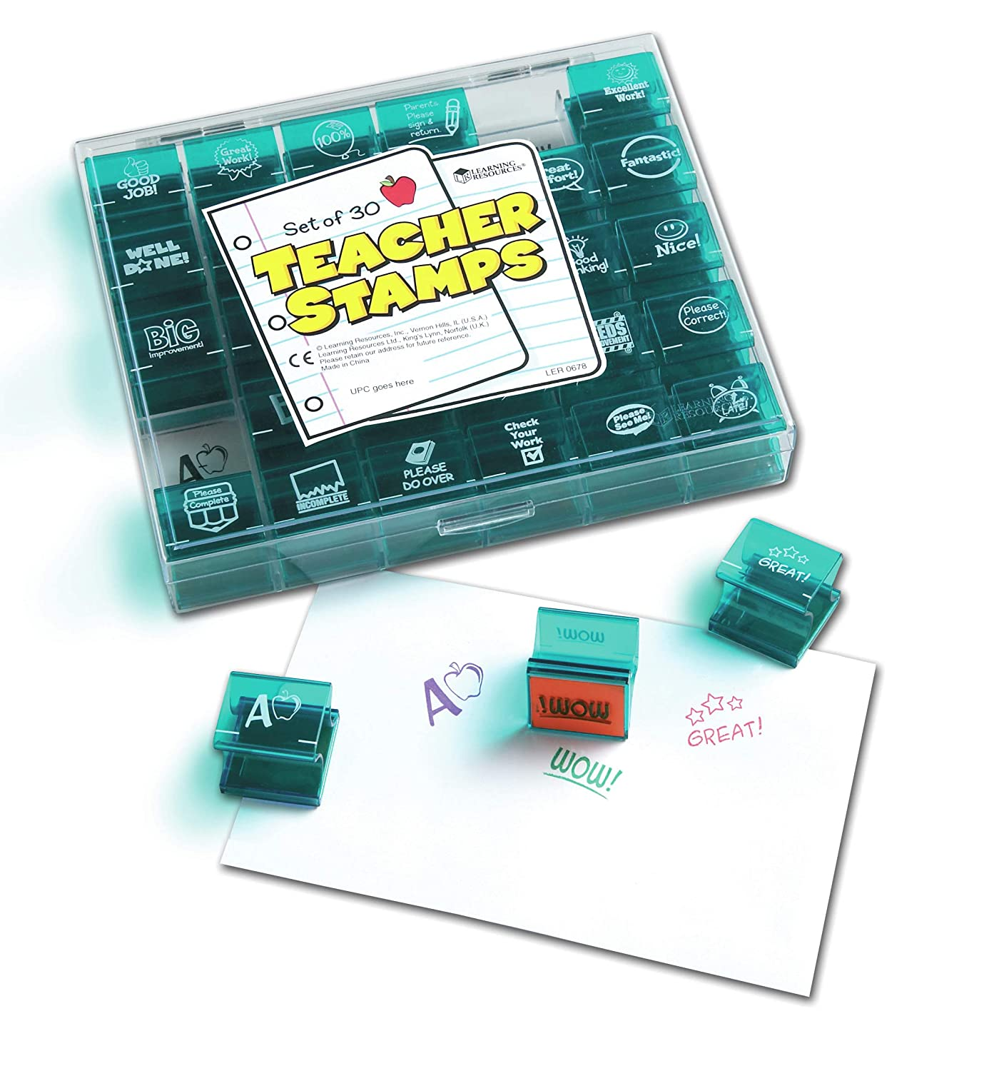Learning Resources Teacher Stamps 30 Toys Games Year 4 Circuit Components Word Mat Science Electricity Ks2