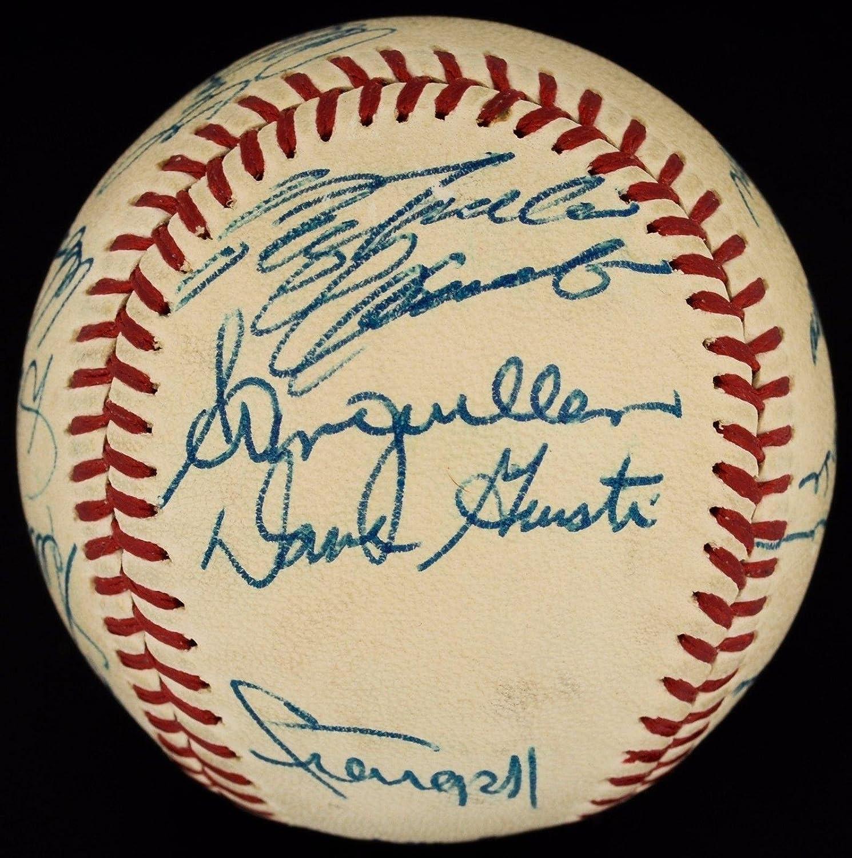 Incredible 1971-72 Pirates Team Signed ONL Baseball w/Roberto Clemente - JSA Certified - Autographed Baseballs